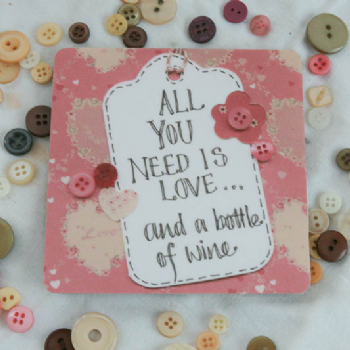 Adornment - Wine Coaster - All you need